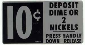 DP100J  Large Door Price Sticker