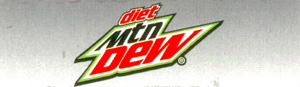 DP130BD Can Stack Decal - DIET MTN. DEW