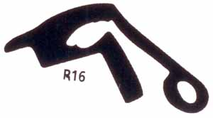 RP16  Bow-Out Body Gasket